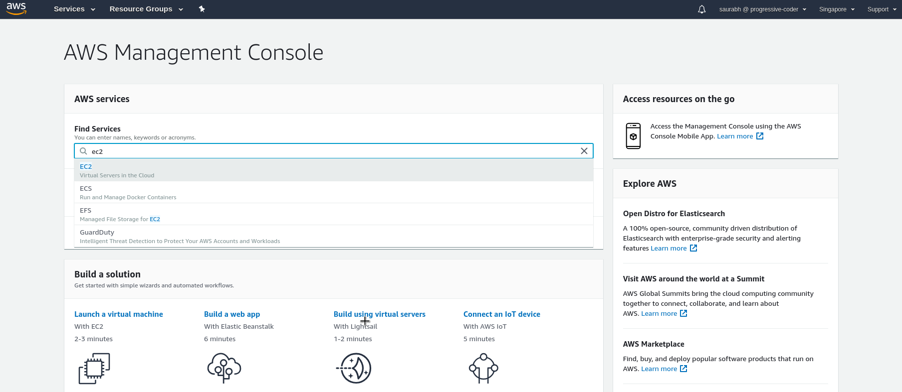 Step by Step Process to Launch AWS EC2 Instance