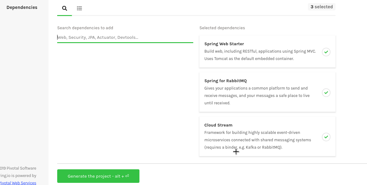 Microservice Communication using Spring Cloud Stream and RabbitMQ